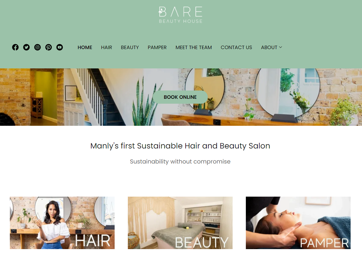 Bare beauty house - Top4 Marketing